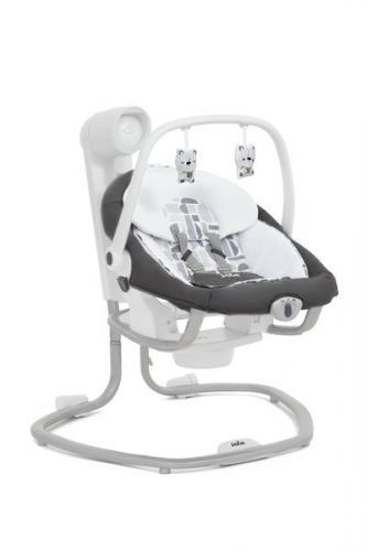 Joie - Leagan si balansoar rotativ Serina 2 in 1 Logan - Camera bebelusului - Leagane si balansoare