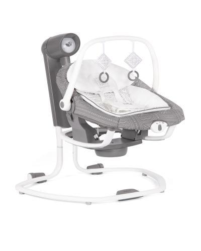 Joie - Leagan si balansoar rotativ Serina 2 in 1 Tile - Camera bebelusului - Leagane si balansoare