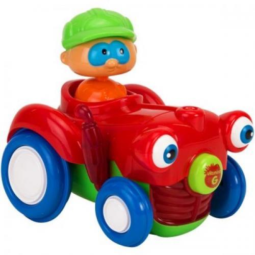 Jucarie Bebelusi Vitamina G Tractor Cu Figurina Lumini Si Sunete - Jucarii bebelusi - Jucarie muzicala