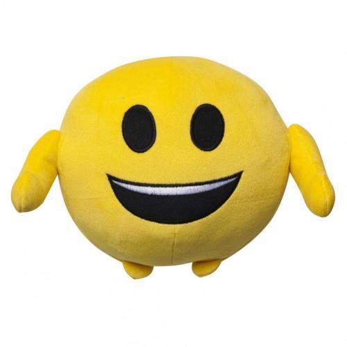 Jucarie de plus emoji emoticon (happy face) 18 cm - Jucarii copilasi - Jucarii din plus