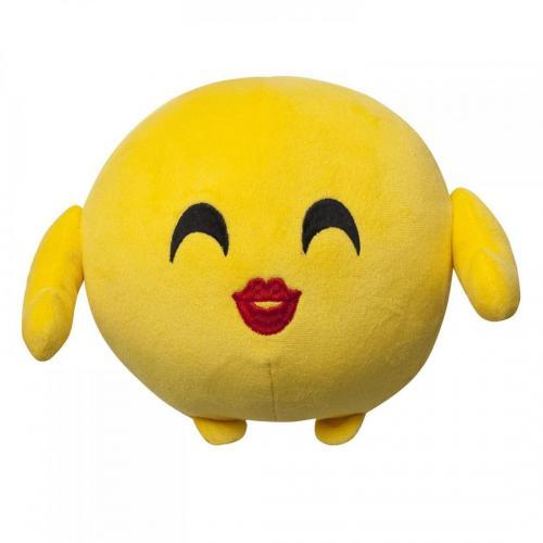Jucarie de plus emoji emoticon (kissing) 18 cm - Jucarii copilasi - Jucarii din plus