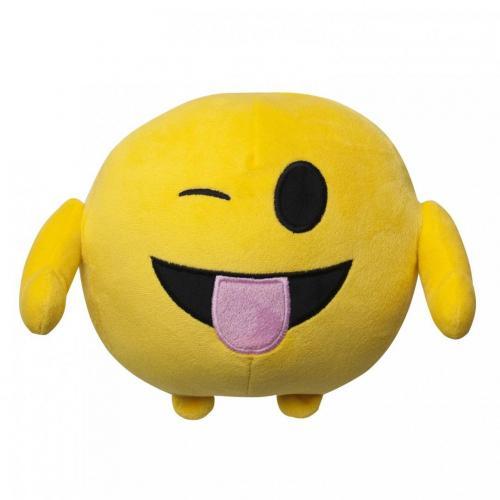 Jucarie de plus emoji emoticon (tongue) 18 cm - Jucarii copilasi - Jucarii din plus