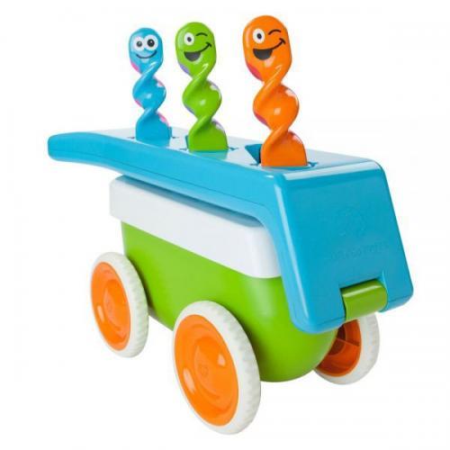 Jucarie de tras Twissbits Wagon - Jucarii bebelusi -