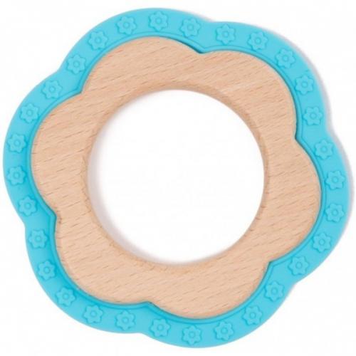 Jucarie dentitie Bo Jungle pentru bebelusi Floare Albastra - Igiena ingrijire -