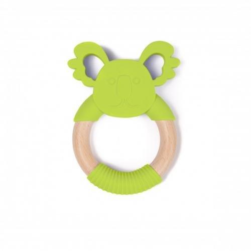 Jucarie dentitie Bo Jungle pentru bebelusi Ursulet Koala Verde - Igiena ingrijire -