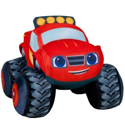 Jucarie din material textil blaze and the monster machines - 15 cm - Jucarii copilasi - Jucarie interactiva