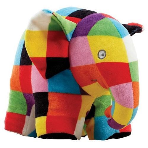 Jucarie din plus elefantul elmer - 17 cm - Jucarii copilasi - Jucarii din plus