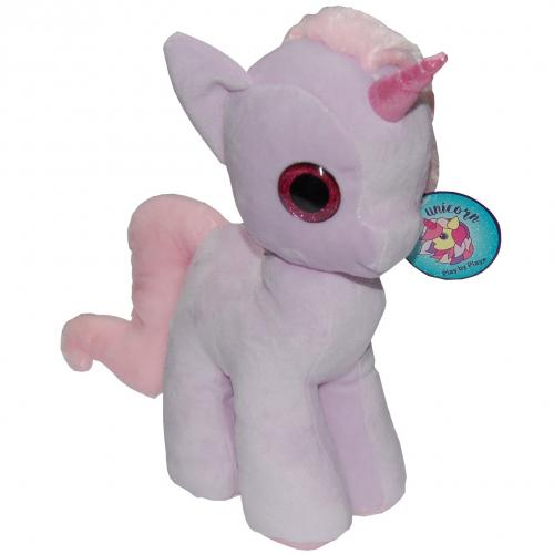 Jucarie din plus my cute unicorn - lila - 28 cm - Jucarii copilasi - Jucarii din plus