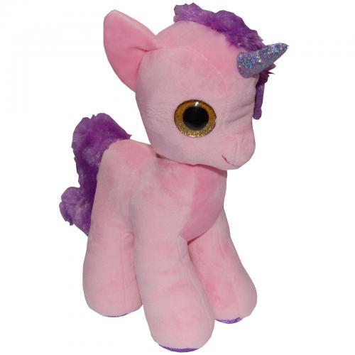 Jucarie din plus my cute unicorn - roz - 28 cm - Jucarii copilasi - Jucarii din plus