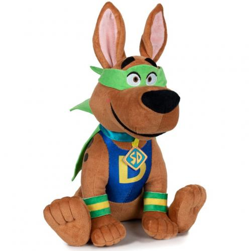 Jucarie din plus scooby mask of the blue falcon - scooby doo - 29 cm - Jucarii copilasi - Jucarii din plus