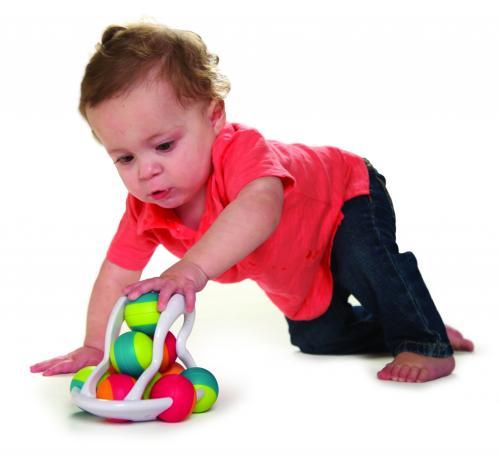 Jucarie Distractiva Cu Bile Rollio - Fat Brain Toys - Jucarii copilasi - Jucarii logica