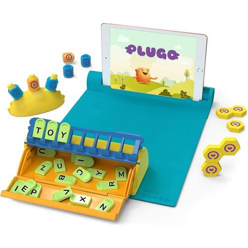 Jucarie educativa Plugo Stem Pack - Count - Letters si Link - Sistem interactiv bazat pe Realitatea Augmentata Shifu Shifu026 - Jucarii copilasi - Jucarii educative bebe
