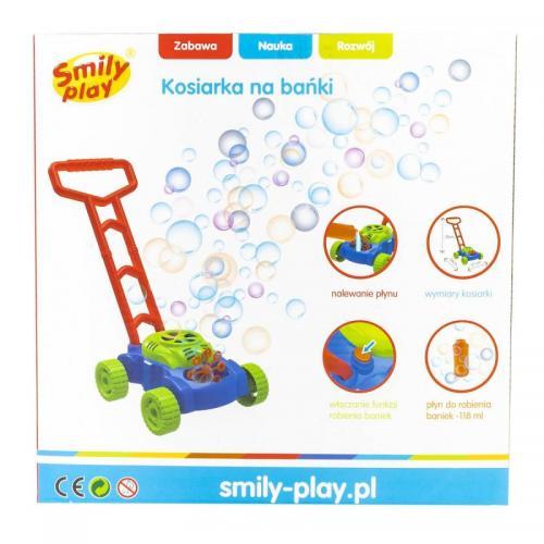 Jucarie facut baloane sub forma de masina de tuns Smily Play - Jucarii copilasi - Jucarie interactiva