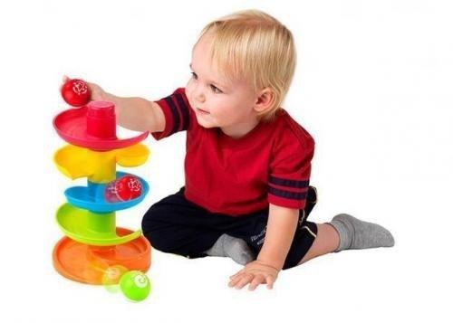 Jucarie Interactiva – Turnulet Cu Bilute - Jucarii copilasi - Arta indemanare