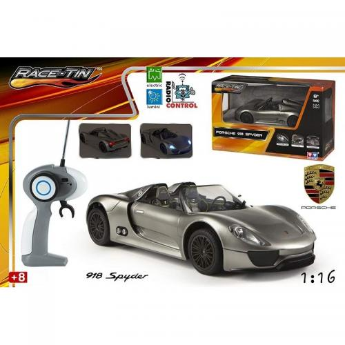 Jucarie masina Porche 918 Spyder Concept cu radiocomanda - Jucarii copilasi - Jucarii telecomanda