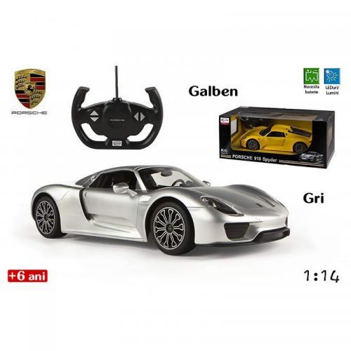 Jucarie masina Porsche 918 Spyder (mare) - Jucarii copilasi - Jucarii telecomanda