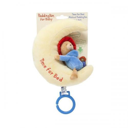 Jucarie muzicala atasabila - ursuletul paddington - 17 cm - Jucarii bebelusi -