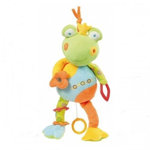 Jucarie Muzicala Broscuta - Brevi (brevi Soft Toys) - Jucarii bebelusi -