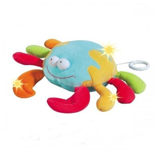 Jucarie Muzicala Crab - Brevi (brevi Soft Toys) - Jucarii bebelusi -