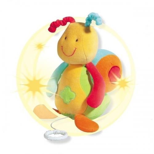 Jucarie Muzicala Melc - Brevi (brevi Soft Toys) - Jucarii bebelusi -