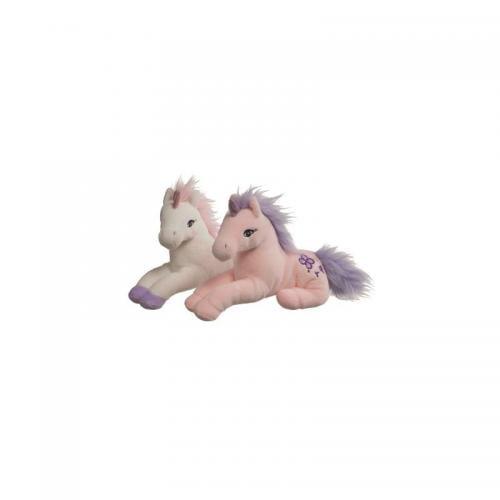 Jucarie plus unicorn - 23cm 0L+ - alb A Haberkorn - Jucarii copilasi - Jucarii din plus