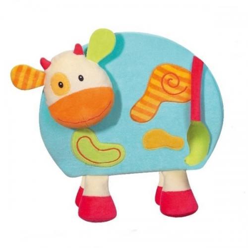 Jucarie - Vacuta Magnetica Cu Creion - Brevi Soft Toys - Jocuri pentru copii - Jocuri magnetice