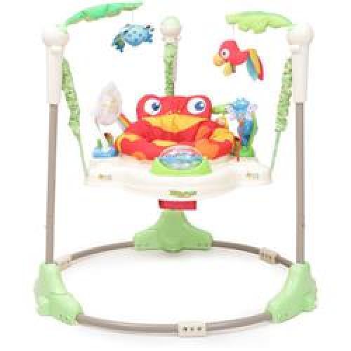 Jumper cu Lumini si Sunete Tropic Fun - Camera bebelusului - Leagane si balansoare