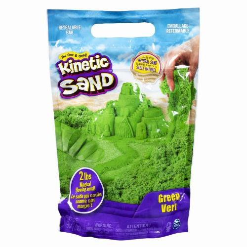 Kinetic sand 900grame verde - Jucarii copilasi - Toys creative