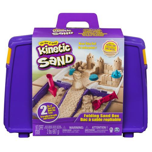 Kinetic Sand Cutie Cu Maner - Nisip Si Accesorii - Jucarii copilasi - Toys creative