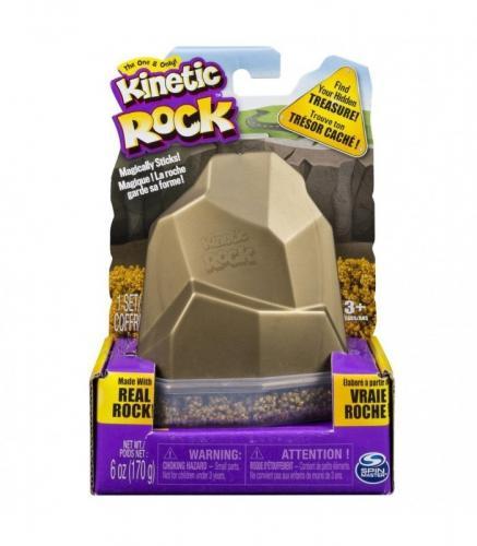 Kinetic Sand Rock supliment 170 grame - Jucarii copilasi - Arta indemanare