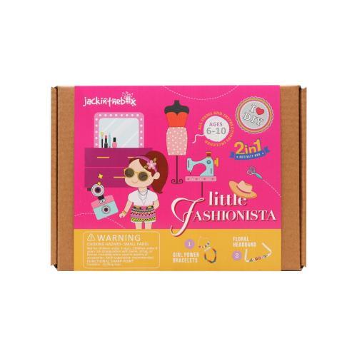 Kit Creatie 2in1 Micuta Fahsionista - Jucarii copilasi - Toys creative