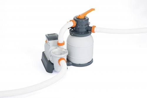 Kit filtrare monobloc cu nisip cuartos piscine bestway 58497 debit 5678l/h - Jucarii exterior - Piscine