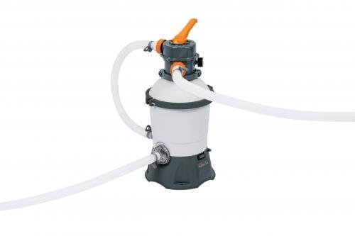 Kit filtrare monobloc cu nisip cuartos piscine bestway 58515 debit 3028l/h - Jucarii exterior - Piscine