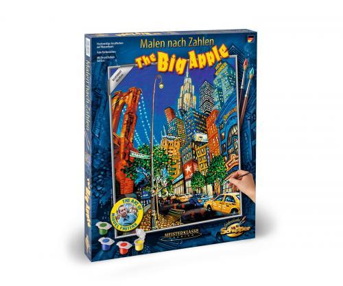 Kit pictura pe numere schipper the big apple - Jucarii copilasi - Toys creative