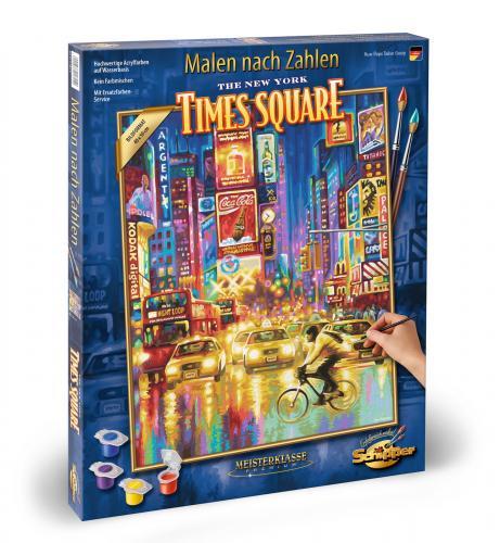 Kit pictura pe numere schipper times square new york - Jucarii copilasi - Toys creative