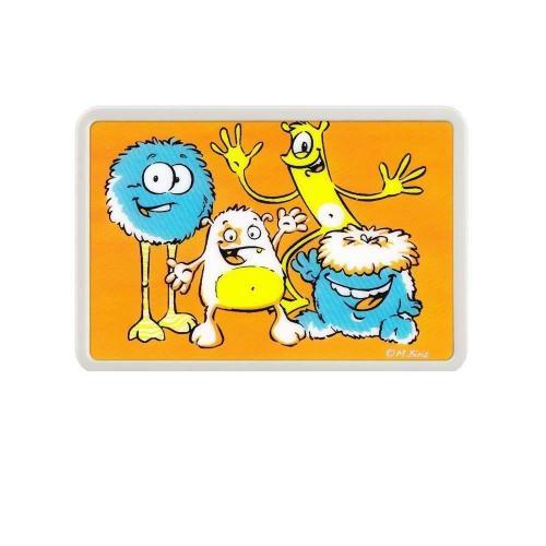 """Lampa de veghe cu leduri colorate KidsLight Creative """"Monstrii"""" REER 5276 - Camera bebelusului - Lampa de veghe"""