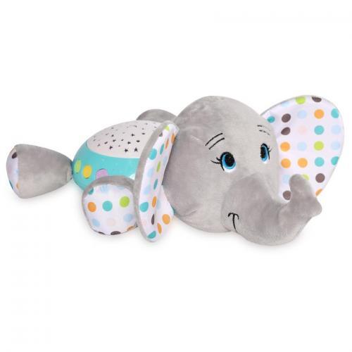 Lampa de veghe - cu sunete si proiector - light grey - Camera bebelusului - Lampa de veghe