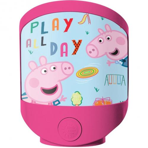 Lampa de veghe Peppa Pig SunCity EWA17013PP - Carusele muzicale -