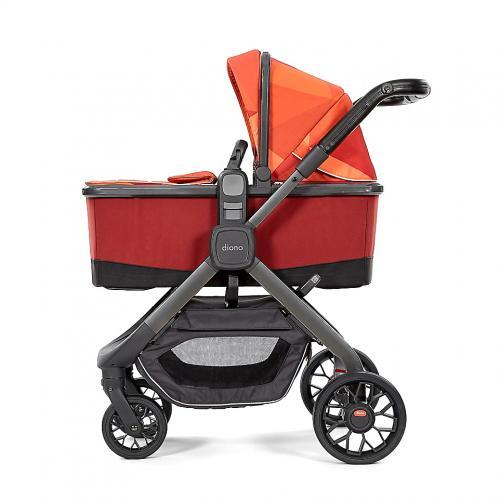Landou Quantum 2 Orange Facet cu stand - Carucior bebe - Accesorii carut