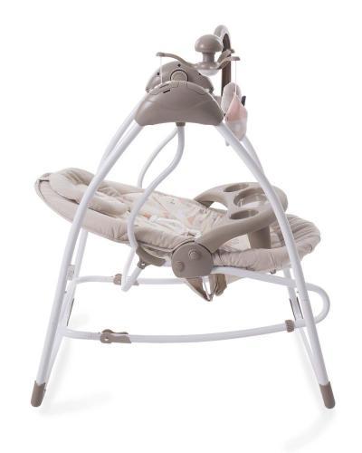 Leagan 2 in 1 cu conectare la priza Mia Stella Beige - Camera bebelusului - Leagane si balansoare