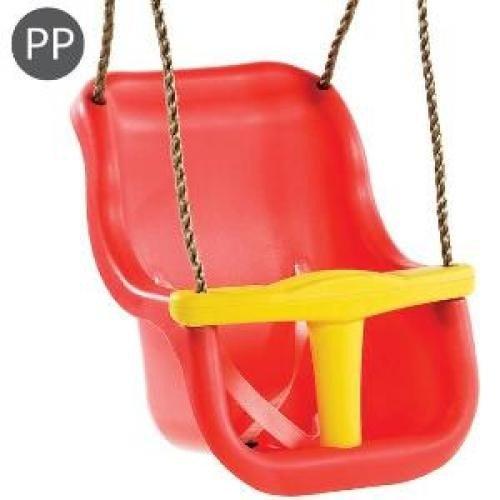 Leagan Baby Seat Luxe Culoare: Rosu/galben - Franghie: Pp 10 - Jucarii exterior - Leagan de gradina