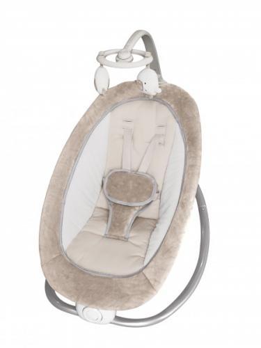 Leagan bebelusi cu carusel Bo Jungle 0-9 kg bej - Camera bebelusului - Calut balansoar