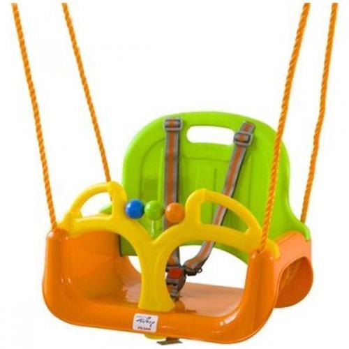 Leagan de interior/exterior pilsan samba swing portocaliu - Camera bebelusului - Leagane si balansoare