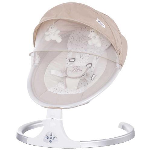 Leagan electric Chipolino Capriz mocca - Camera bebelusului - Leagane si balansoare