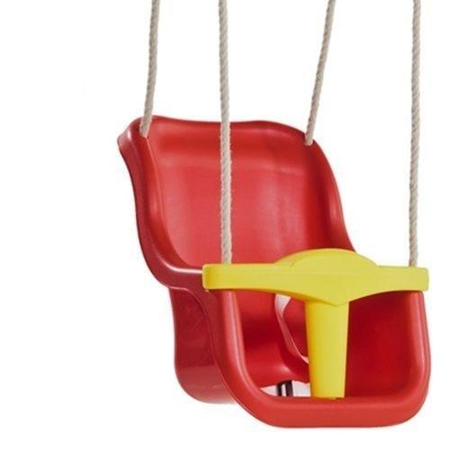 Leagan Pentru Copii Luxe Pp Rosu Galben - Jucarii exterior - Leagan de gradina