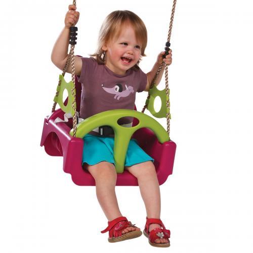 Leagan pentru copii Trix PP mov - Jucarii exterior - Leagan de gradina