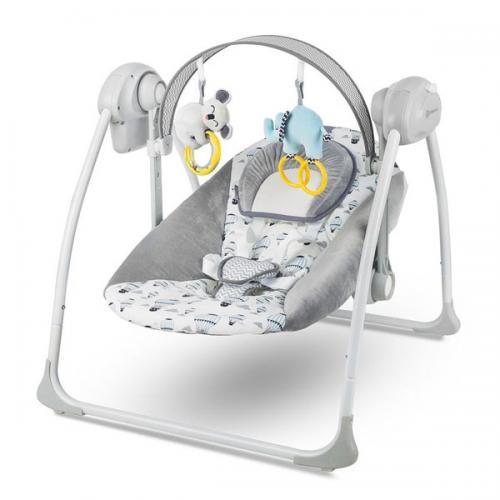 Leagan portabil 2 in 1 FLO MINT cu conectare la priza - Camera bebelusului - Leagane si balansoare