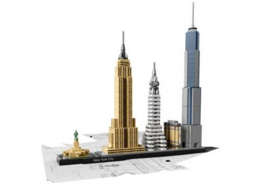 LEGO® Architecture New York - Jucarii copilasi - Jucarii de constructie