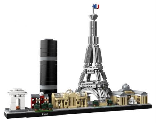LEGO® Architecture Paris - Jucarii copilasi - Jucarii de constructie