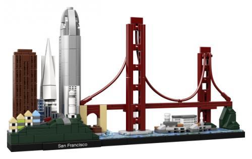 LEGO® Architecture San Francisco - Jucarii copilasi - Jucarii de constructie